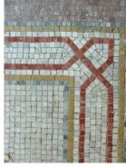 Details of a floor mosaic