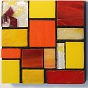 Handmade glass mosaic crafts