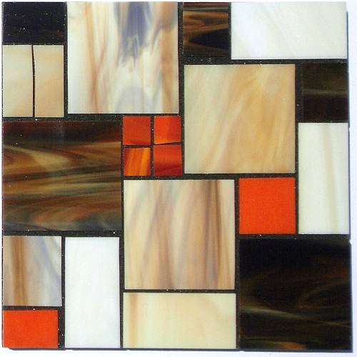 stained glass abstract tiles - photo #35
