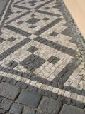 Beautiful Mosaic Sidewalk