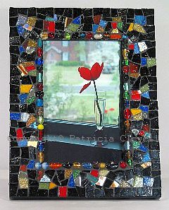patricia clewell mosaic picture frame - Mosaic Picture Frames