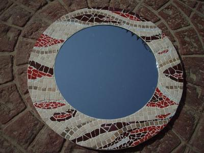 Abstract Mosaic Mirror