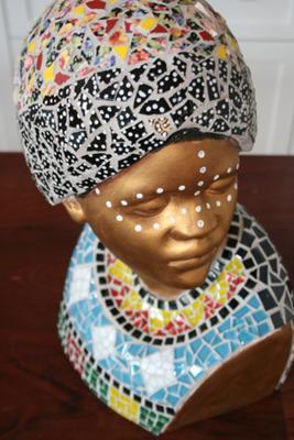 African Lady Mosaic