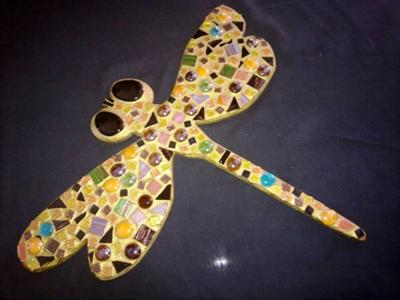 Mosaic Dragon Fly