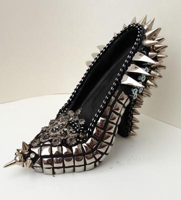 Embellished High Heel