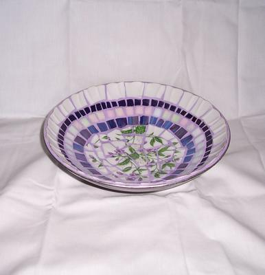 Broken china bowl