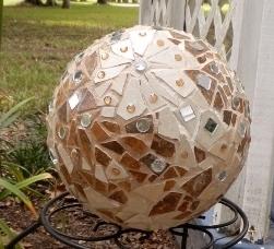 First Gazing Ball