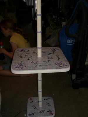 Mosaic Lamp table