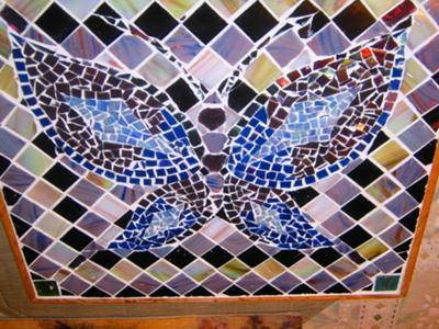 Mom's Mosaic Butterfly