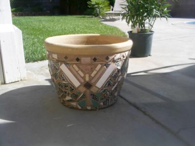 Reversable Sides Planter Pot