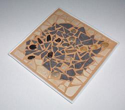 Mosaic Service plate