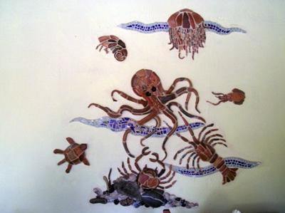 Sea Life Mosaic