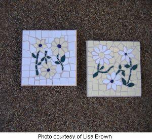 Lisa's Mosaic Trivet