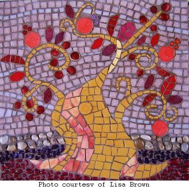 Lisa's mosaic tree
