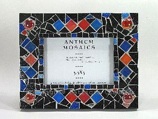 Patricia Clewell Mosaic Picture Frame
