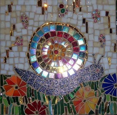 Klimt style Magical Mollusc