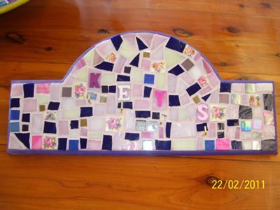 Mosaic Key Holder